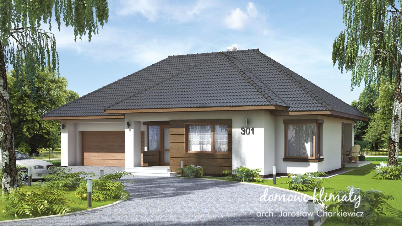 Projekt domu - Malwa