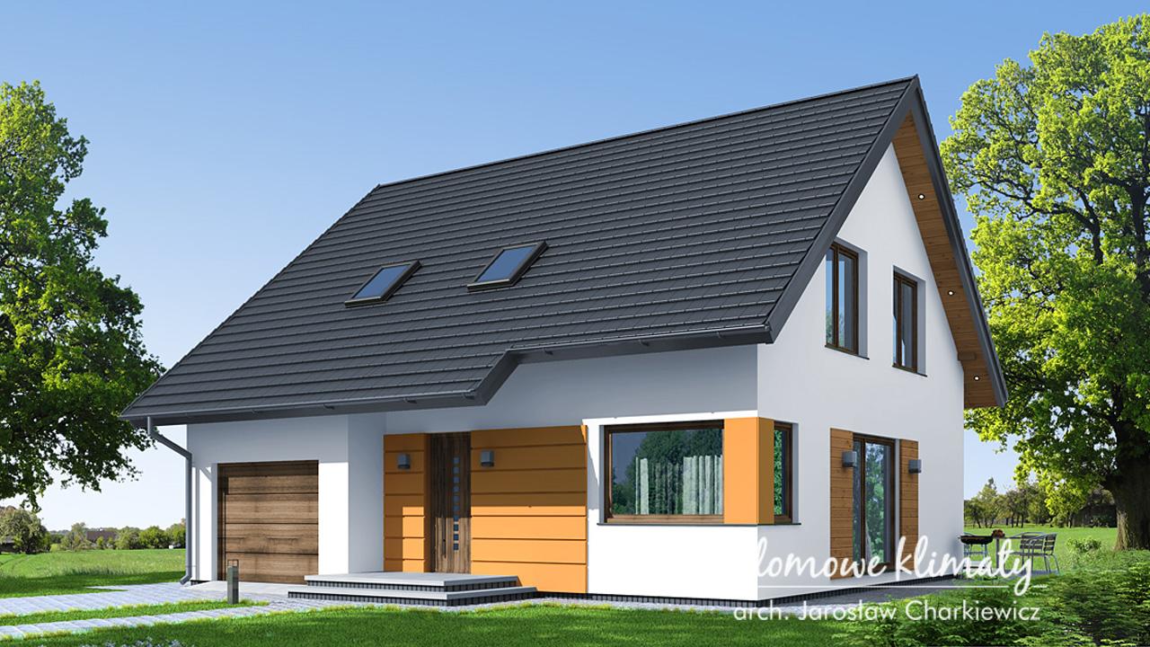 Projekt domu - Miki III