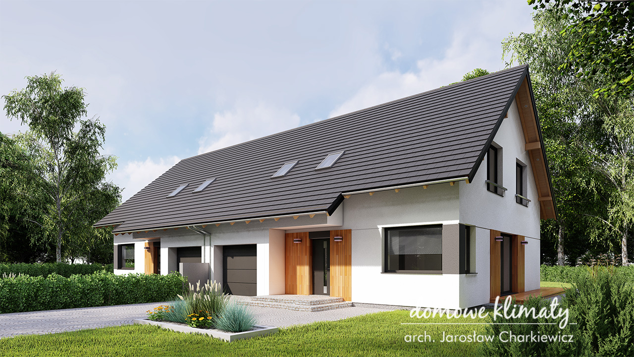 Projekt domu - Miki III B