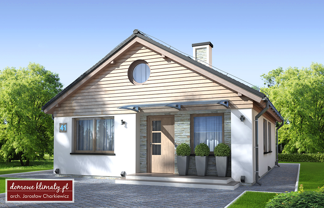 Projekt domu - Mikrus