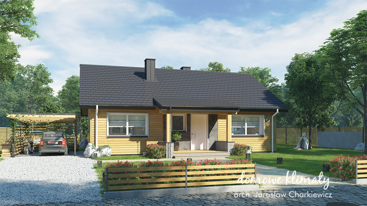 Projekt domu - Mini