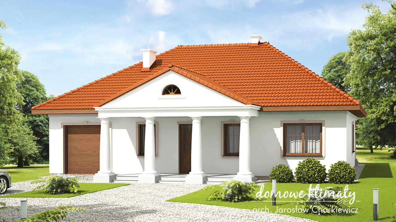 Projekt domu - Nagietek