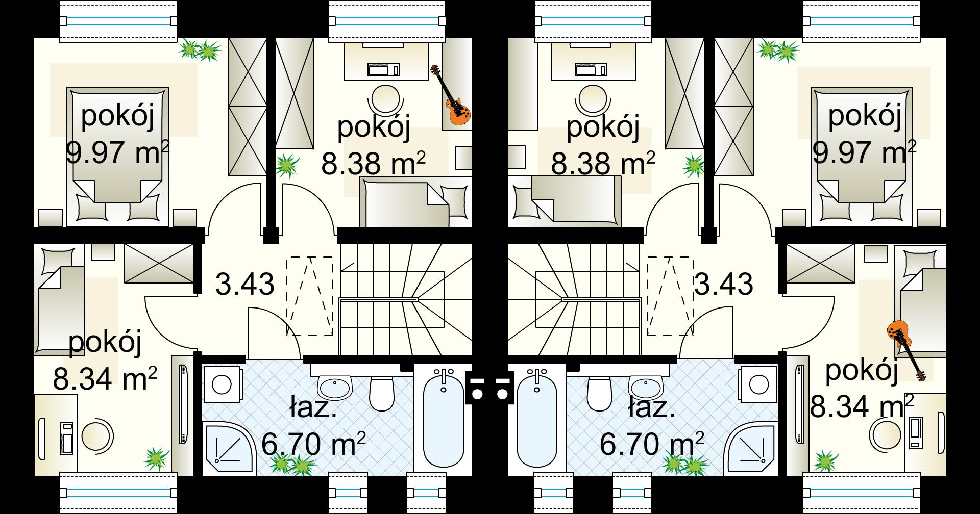 Piętro (jeden segment)
