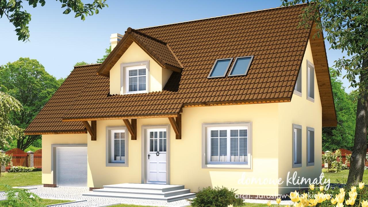 Projekt domu - Piotruś bis