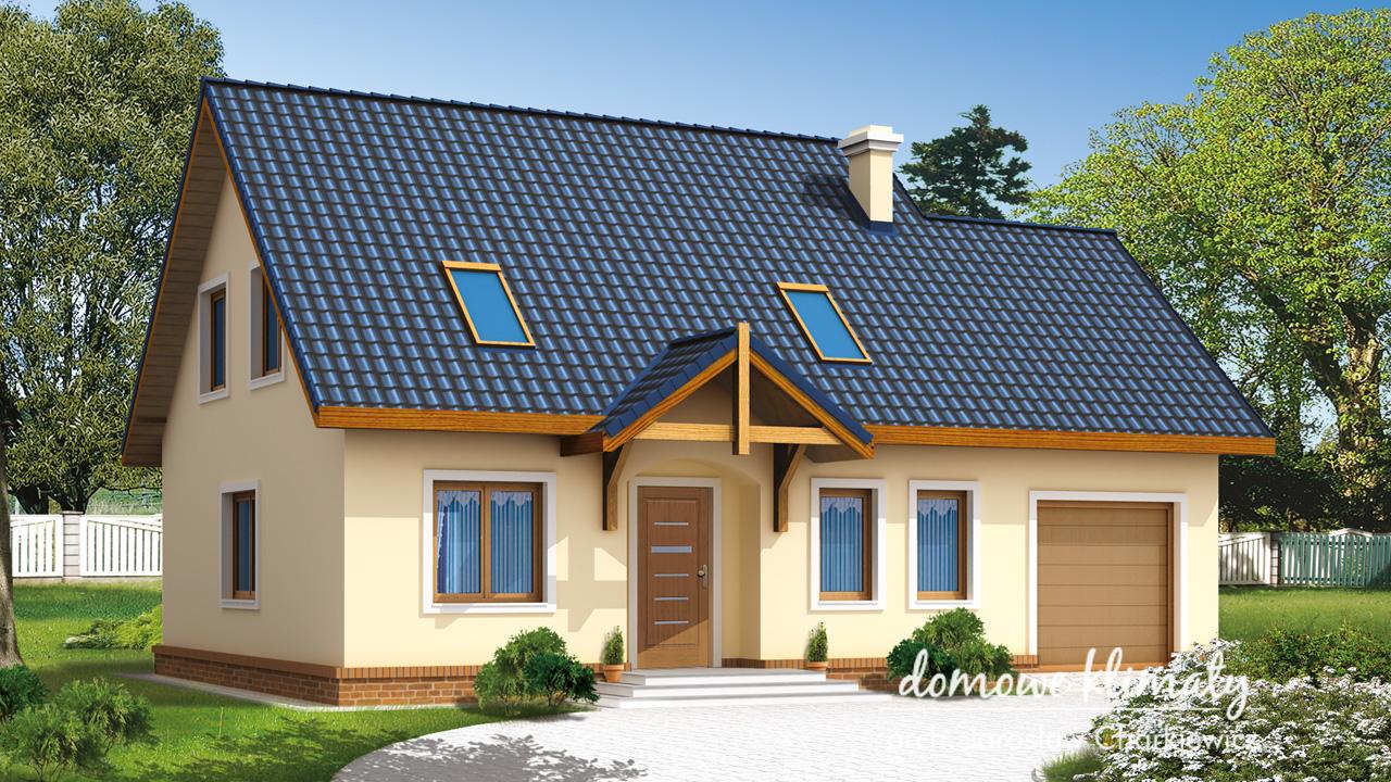Projekt domu - Promyk