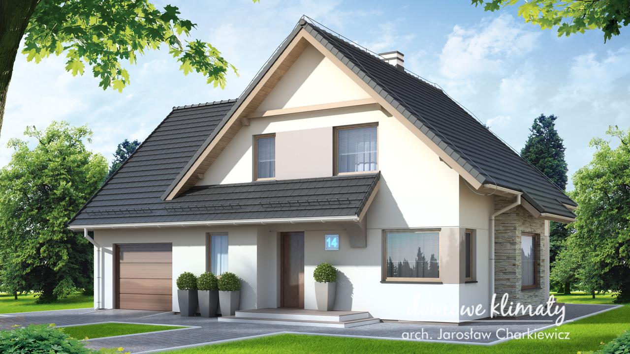Projekt domu - Przystań IV