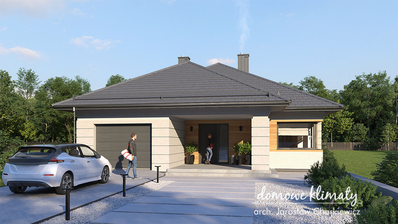 Projekt domu - Selene IV