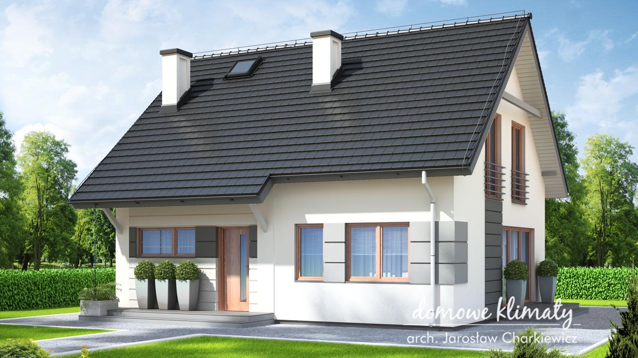 Projekt domu - Skromny