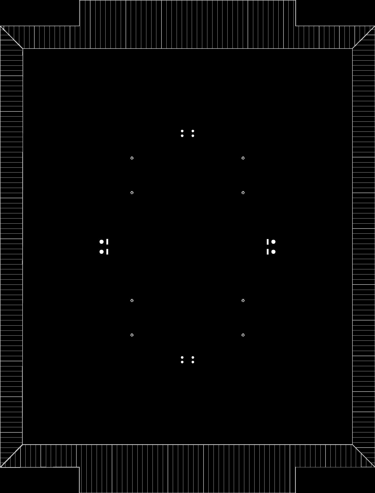 Strych (jeden segment) (przykładowa aranżacja)
