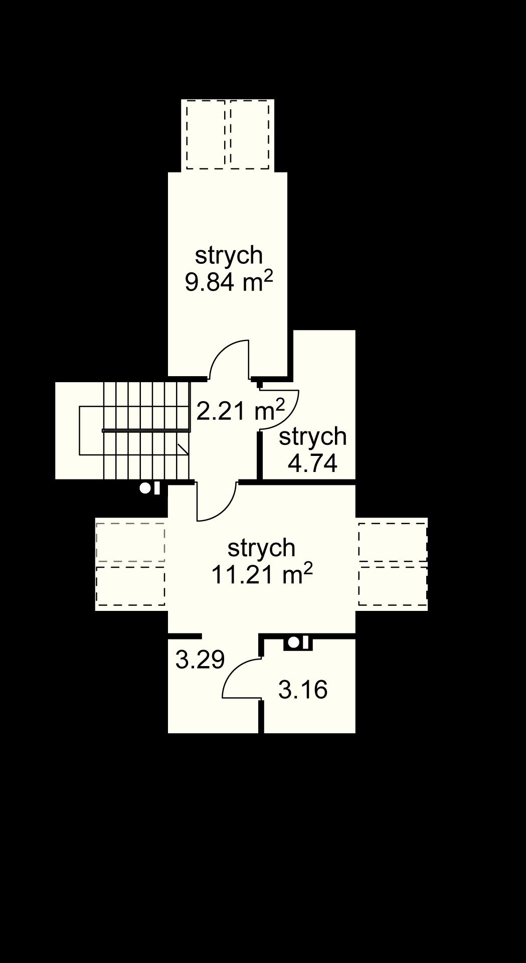 Strych (przykładowa aranżacccja)