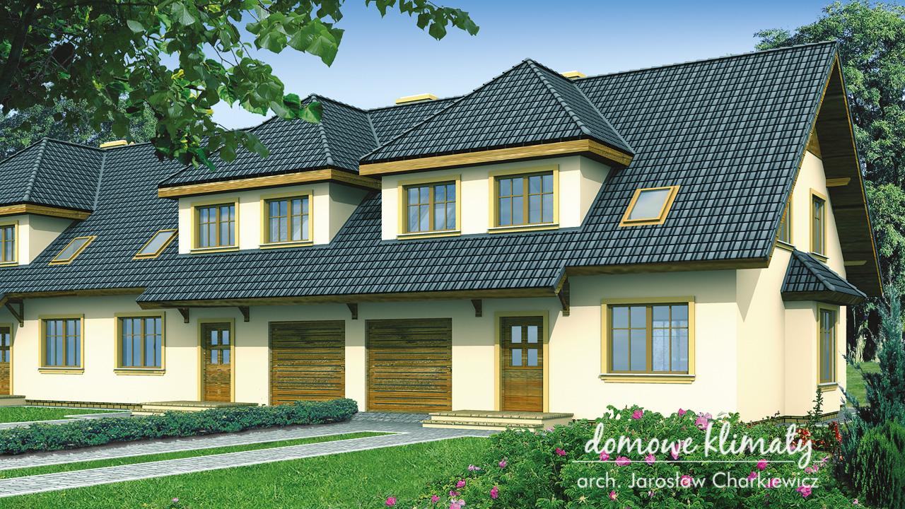 Projekt domu - Szafran