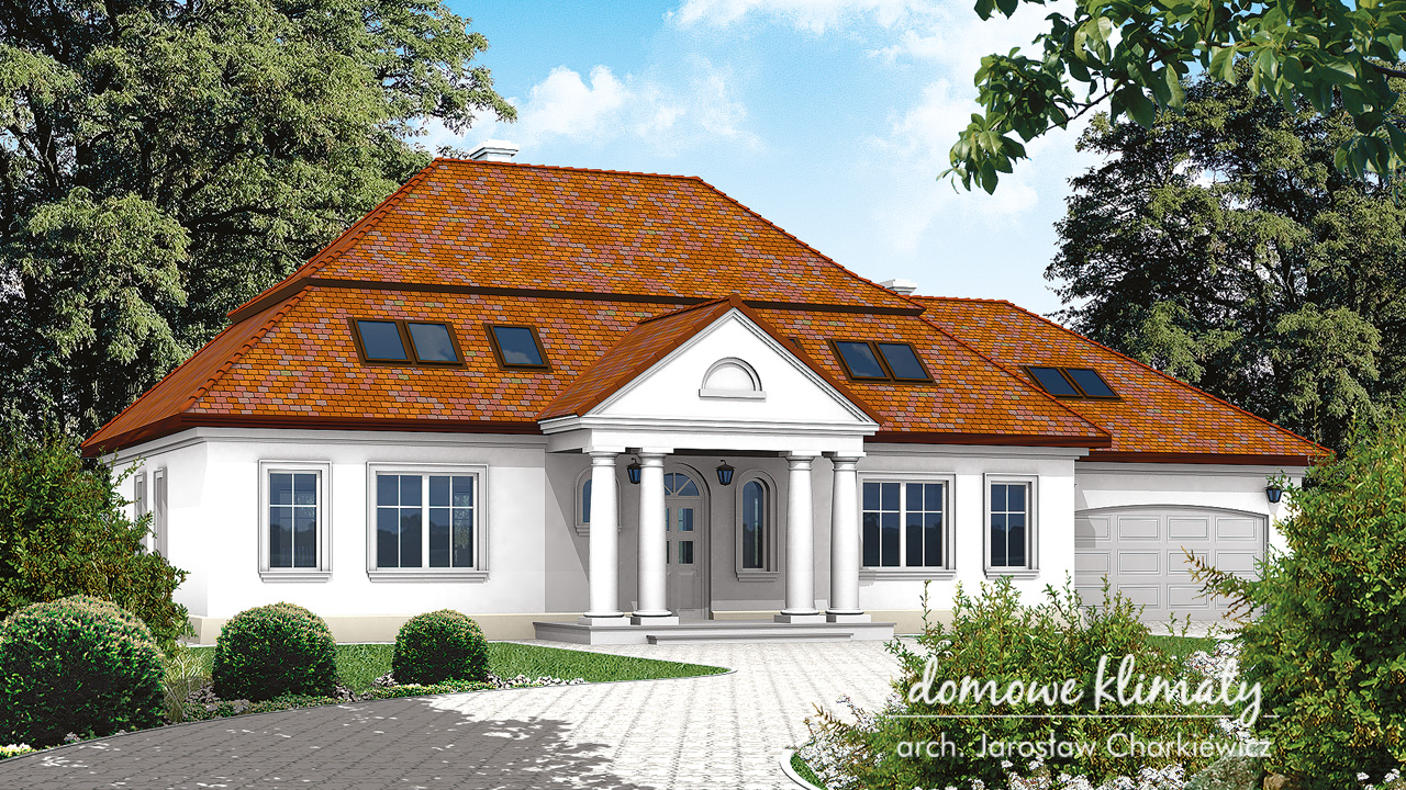 Projekt domu - Tajemniczy Ogród