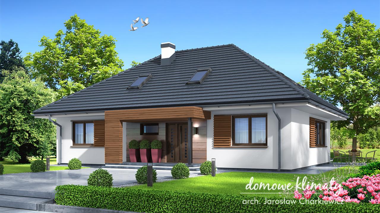 Projekt domu - Zacisze IV