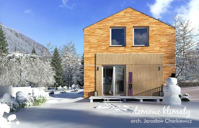 Projekt domu Drops, wizualizacja 6