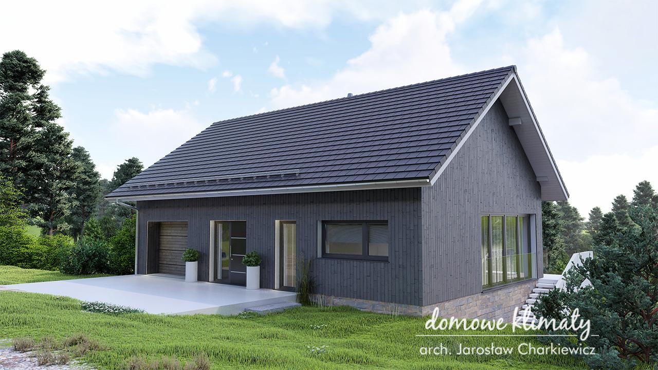Projekt domu - Dom na Stoku 8
