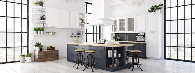 Aranżacja wnętrza w stylu skandynawskim kuchnia
