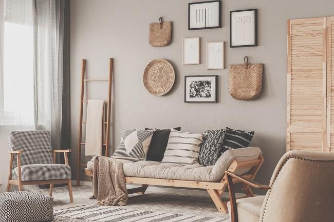 Aranżacja wnętrza w stylu skandynawskim meble