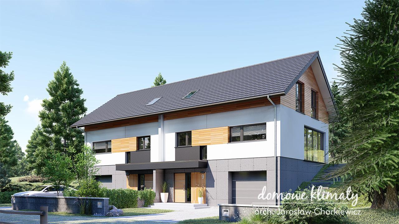 Projekt domu - Dom na Stoku 9