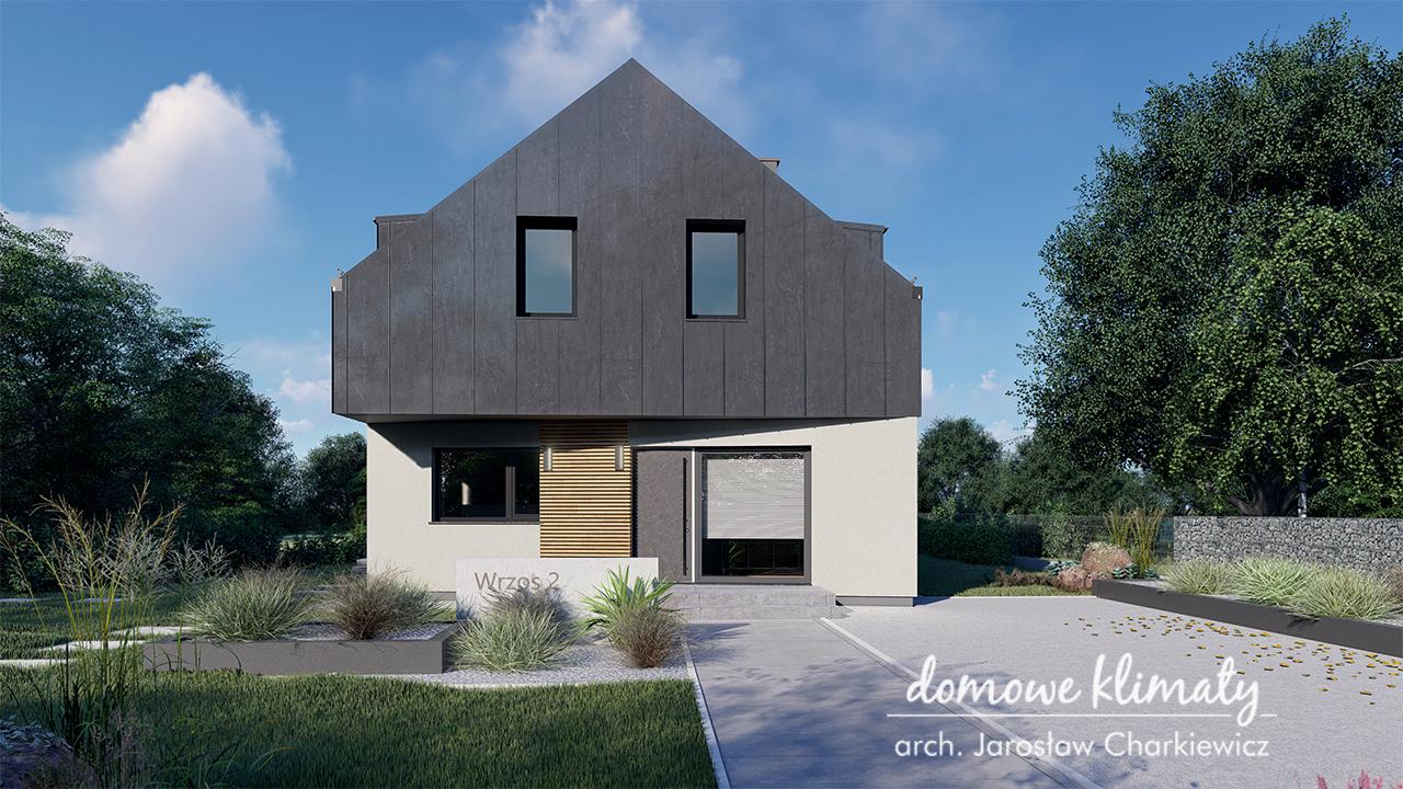 Projekt domu - Wrzos 2