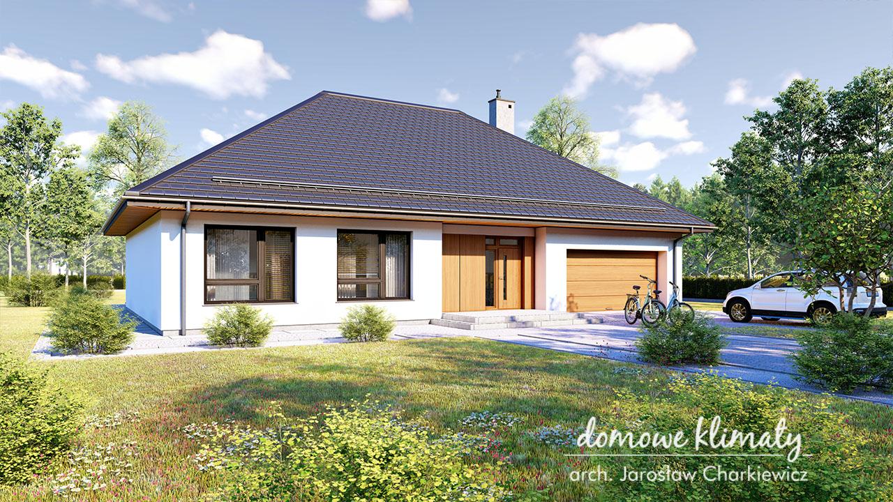 Projekt domu - Zacisze 8