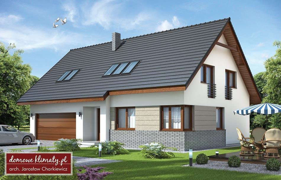 Projekt Domu Dwupokoleniowy Ii 14796 M² Domowe Klimaty