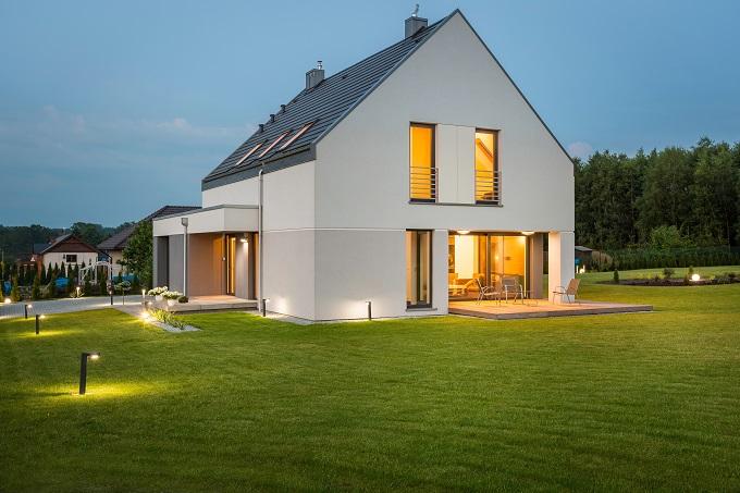 Oświetlenie Zewnętrzne Domu Ogrodowe Oświetlenie Led I