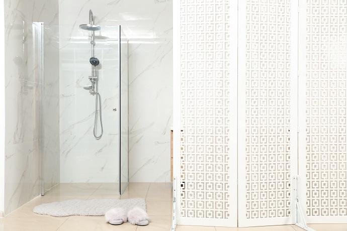 rogowa kabina prysznicowa