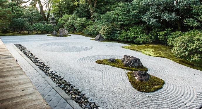nawierzchnia ogrodów japońskich