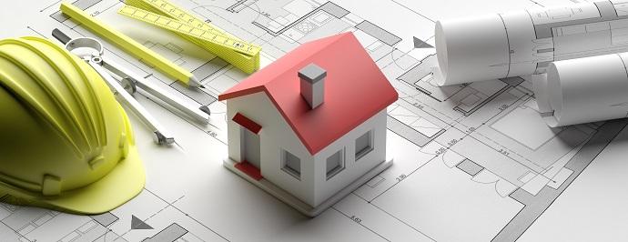 Plan zagospodarowania domu na rzucie działki