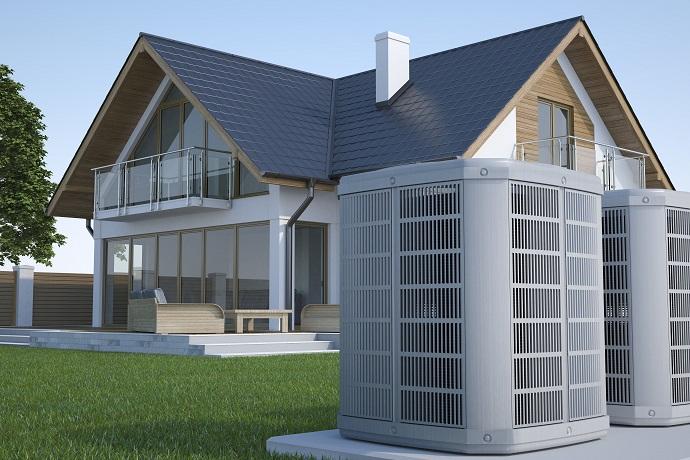 Pompa ciepła w nowoczesnym domu