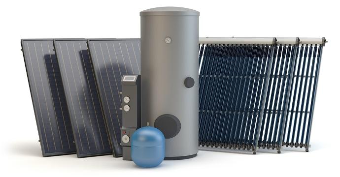 solary - instalacja