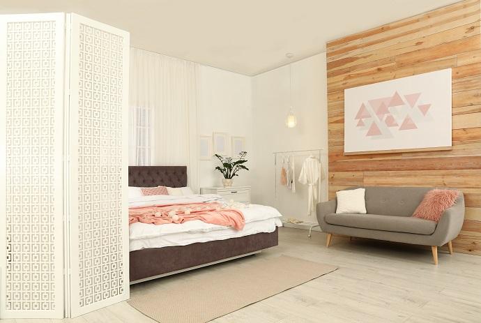 Styl minimalistyczny w sypialni skandynawskiej