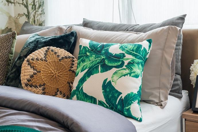tekstylia domowe - poduszki