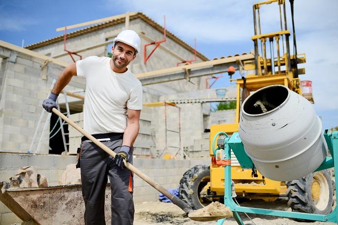 zaczęcie budowy prace budowlane