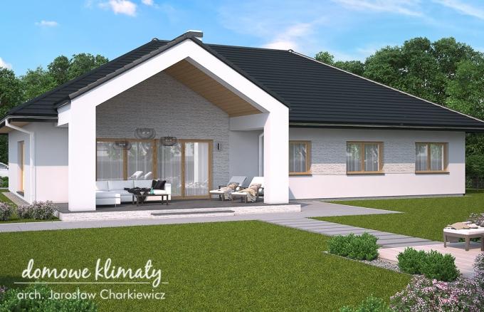 Projekt domu Adria II, wizualizacja 2