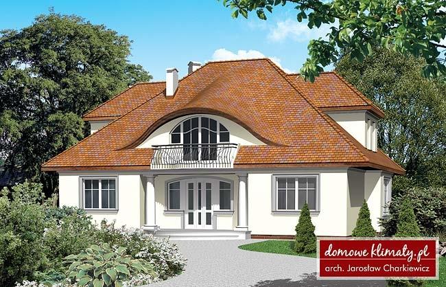 Projekt domu Karmen, wizualizacja 1