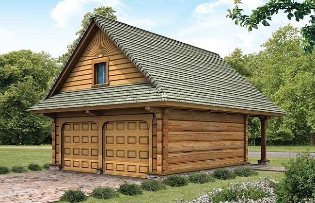 Projekt Garaż Gd 3 4377 M² Domowe Klimaty
