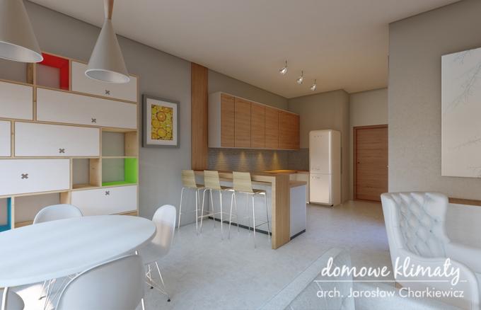 Projekt domu Szpinak 4, wizualizacja 8