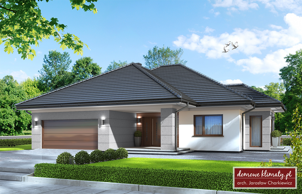 Projekt Domu 4 Pory Roku Ii 12475 M² Domowe Klimaty