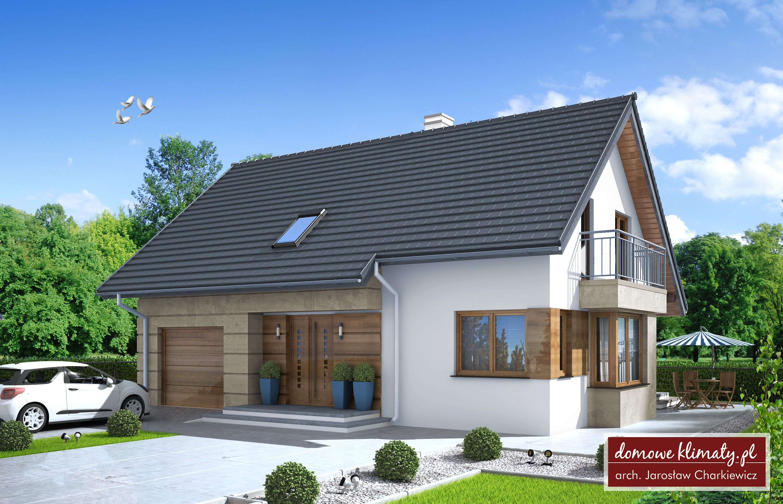 Projekt domu As V 99.63 m² - Domowe Klimaty