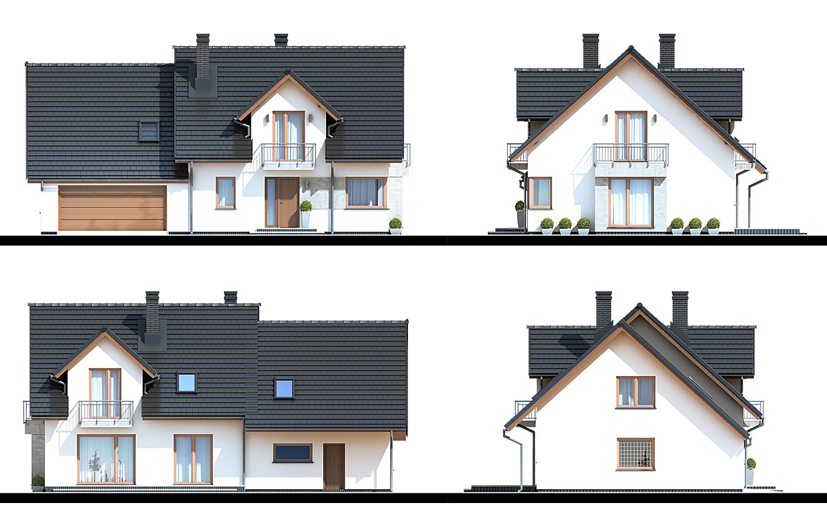 House Design Bratek Ii G2 Nf40 M Domowe Klimaty