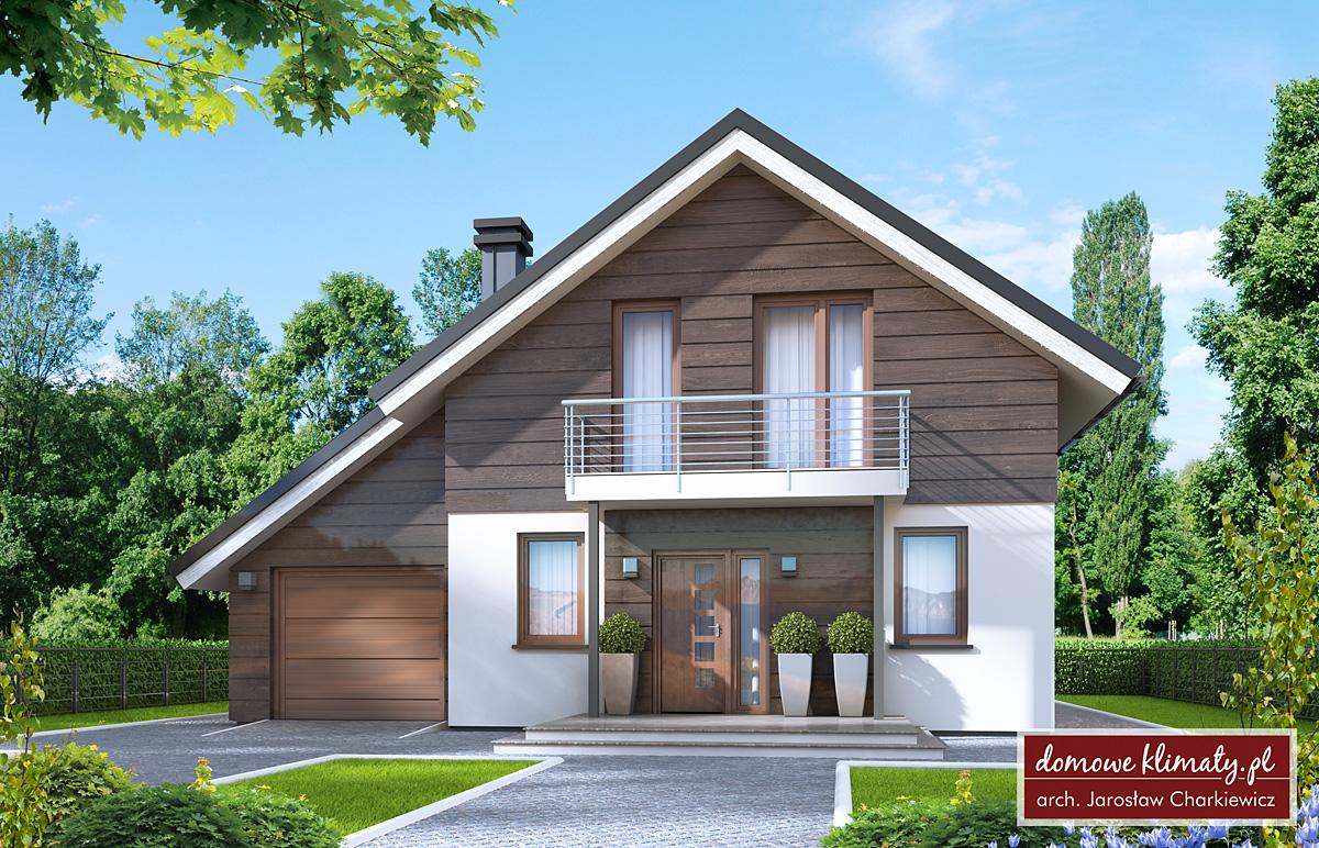 House design Bingo NF40 & House design Bingo NF40 108.61 m² - Domowe Klimaty