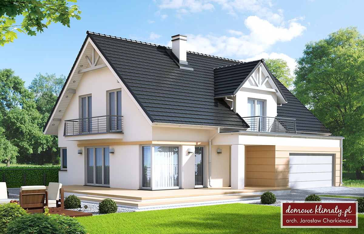 Projekt Domu Helios Iii Nf40 M Domowe Klimaty