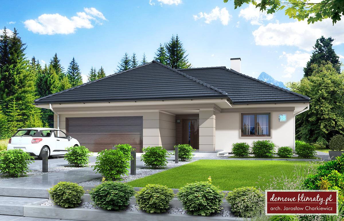 Projekt Domu Oaza 8956 M² Domowe Klimaty