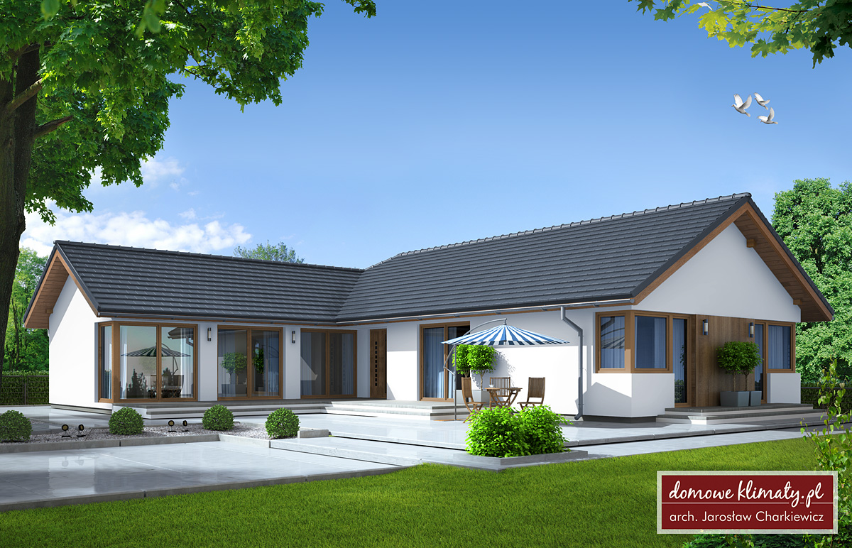 Projekt Domu Radegast Nf40 14422 M² Domowe Klimaty