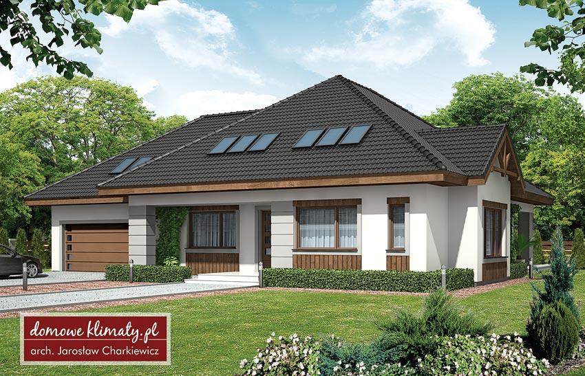 Projekt Domu Maciejka Ii 24052 M² Domowe Klimaty