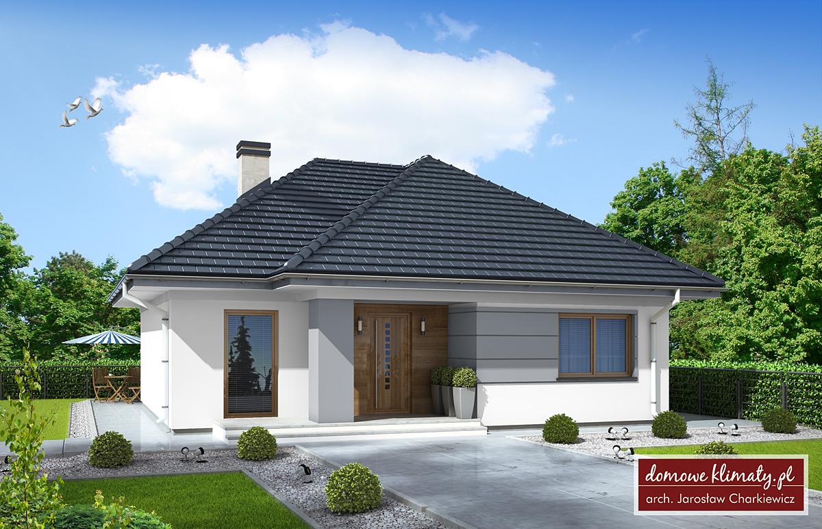 Projekt Domu Dla Dwojga Nf40 M Domowe Klimaty