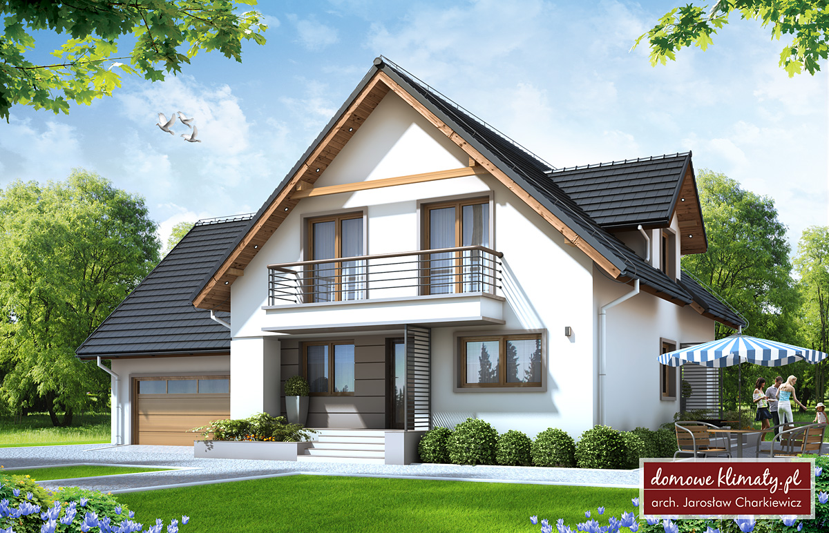 House design korsarz nf40 m domowe klimaty for House plans architect