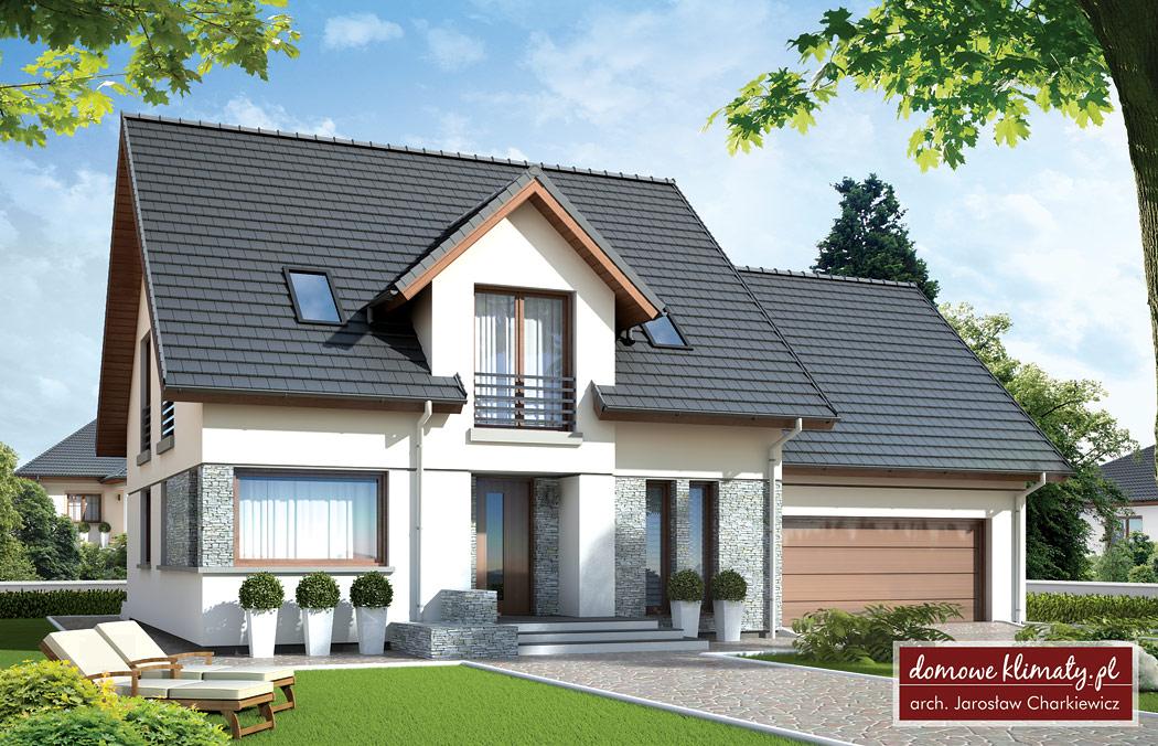 Projekt Domu Estragon 16113 M² Domowe Klimaty