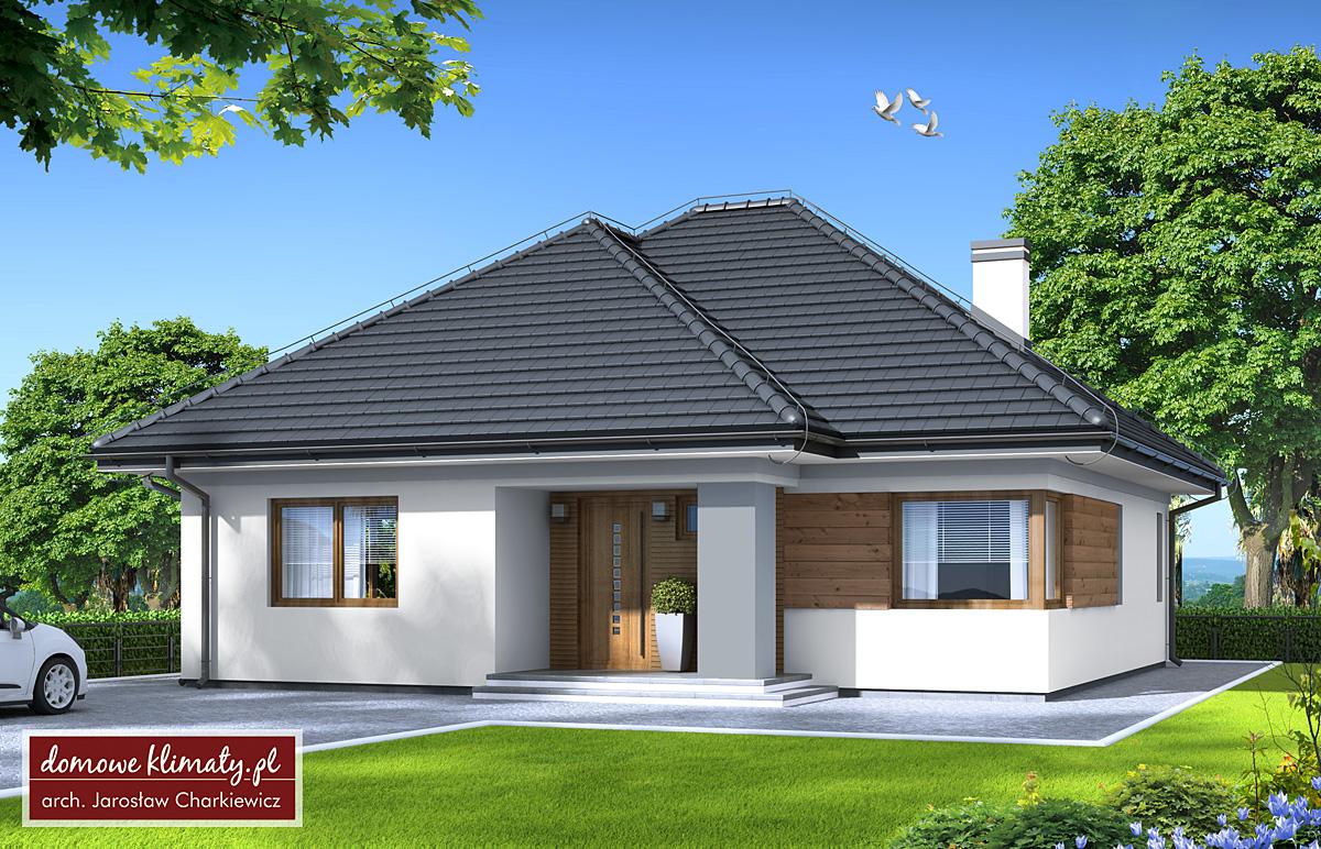 Projekt Domu Tytus 7811 M² Domowe Klimaty